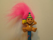 "HAPPY BIRTHDAY PENCIL - 2"" Russ Troll Doll - NEW"