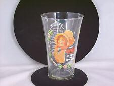 Vtg Ladies of Coca Cola Company Series 1 Flair Fluted Nostalgic Coke Glass 16 oz