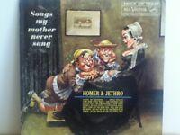 HOMER &  JETHRO      LP      SONGS   MY   MOTHER   NEVER   SANG