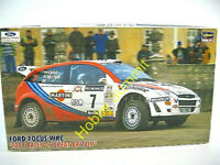 DIscountinued  1/24  FORD FOCUS WRC  1999 Britian Rally  w/ P-E  Hasegawa Kit