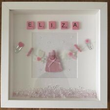 Personalised Box Picture Frame Childrens Gift, baby shower, christening and more