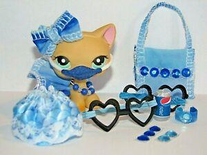 12 PC LPS Clothes Accessories Littlest Pet Shop outfit NEW DESIGN  Fashion Mask