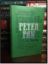 Peter Pan by J.M. Barrie Illustr. Arthur Rackham New Textured Soft Leather Feel