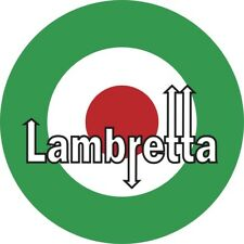 150mm Italian 'Lambretta' Mod RAF Roundel Sticker Scooter The Jam Italy SKA