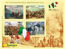SPEDIZIONE DEI MILLE FOGLIETTO ITALIA 2010