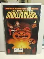 The uncanny skullkickers #1 variant signed by jim zub phantom variant limited