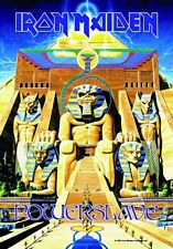IRON MAIDEN - POWER SLAVE - FABRIC POSTER - 30x40 WALL HANGING - MUSIC 51273