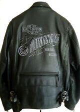 Harley Davidson Leather Jacket Heavy Duty EPIC w VENTS & LINER 97029-05VM XL