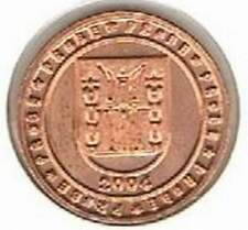 Noorwegen 2004 (A) probe-pattern-essai - 2 eurocent - Wapenschild
