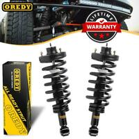 2x Rear Shocks Struts w/ Springs For Ford Expedition For Lincoln Navigator 03-06