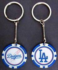 LA Los Angeles Dodgers Baseball Poker Chip Keychain Key Chain