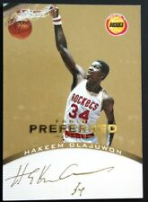 2012-13 Panini Preferred Gold #152 Hakeem Olajuwon PS AU/10
