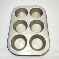 Vintage Aluminum Muffinaire Muffin Cup Cake Pan Bakeware UAP The Aire-Ware Line