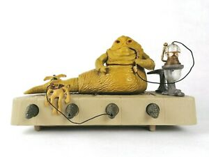 C 8.0 Star Wars Vintage 1983 Kenner ROTJ Jabba The Hutt Loose