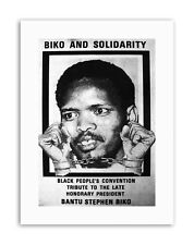 STEVE BIKO ANC APARTHEID SOUTH AFRICA Political Canvas art Prints