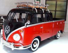 LGB 1:24 Escala Vw T1 Vidrio Dividido Doble Cabina Modelo Camioneta 1962 79552