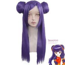 Ranma 1/2 Shampoo anime Halloween Cosplay Party Purple Wig