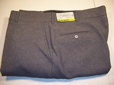 Edward's Security Pants Gray Men 40x31 100% Texterized Polyester Made in the USA