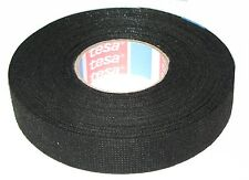 TESA 51608 19mm x 25m Adhesive Cloth Fabric Tape with Fleece for wiring harnes