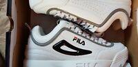 Fila DISRUPTOR II; Men's Trainer; Size: 10 (EU 44); WHITE; BRAND NEW BOXED