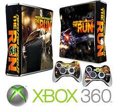 Xbox 360 SLIM Console Sticker Skin Need Speed Street Racing & 2 X Pad Skins