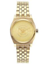 NEW Nixon A399SW 2378 Star Wars Gold Women's Stainlesss Steel Watch
