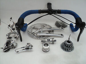 Vintage 00s CAMPAGNOLO CHORUS Carbon 10s group set build kit gruppe VGC ! record