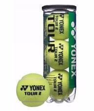 YONEX TOUR 2 TENNIS BALLS (PACK OF 3)-FLUORESCENT YELLOW