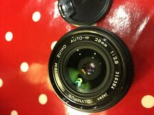 Olympus Zuiko OM-System Auto-W 28mm f2.8 Lens