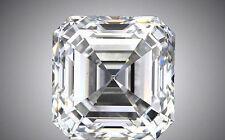 0.50 carat Asscher Cut Loose Diamond  E VS1 w/ GIA certificate #153