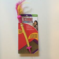 New listing Kong Connects Catnip Cat Toy - Brand New - Yellow Dispenser/Scratcher