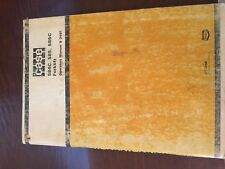 Case 584 585 586 586C 584C Forklift Tractor Operators Manual 9-3481