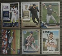 ⚾️Dansby Swanson 6-CARD LOT with 2 ROOKIES: 2015 Panini Contenders #63 and #31