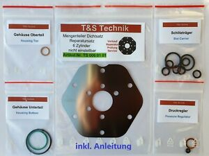 0438100004 Mengenteiler PORSCHE 911 Reparatursatz Fuel Distributor Repair Kit