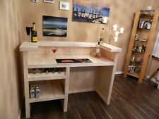 The Martini Home Bar  - Pine Bar - Man Cave, Log Cabin,Drinks, Wine Rack 003
