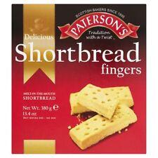3 x Paterson's - Shortbread Fingers 380g