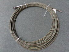 "90' 3/8"" Steel Cable Thimbled and Terminated Ends"