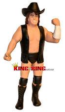 "WWF LJN Custom ""COWBOY"" BOB ORTON Wrestling Figure 1980's WWE with HAT"