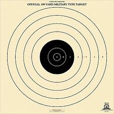 "Official NRA SR-1 [SR1] 100-Yard Military Type Target [21"" x 21""]-RAIN PROOF (6)"