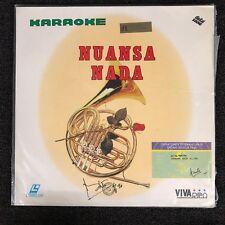NUANSA NADA Karaoke Laserdisc LD [VL-001]