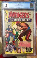 The Avengers #22 (Nov 1965, Marvel) CGC .5!  Enchantress, Power Man Appearance!