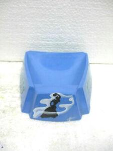 Cendrier en plastique bleu publicitaire GITANES, collector