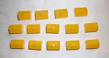 Vintage 1990 Monopoly Jr. Game, Replacement parts, 14 Yellow Ticket Booths, EUC