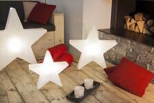 Lampe Stern 60 cm weiß Design by 8seasons für Innen & Außen NEU