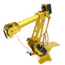 Abb Robot 6 Axis Mg996 Industrial Mechanical Robot Arm Model Diy Kit Free Ship