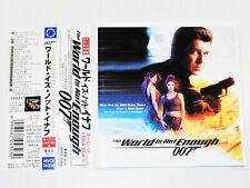David Arnold THE WORLD IS NOT ENOUGH Garbage Pierce Brosnan Soundtrack Jap. CD