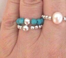 Handmade Turquoise Birthday Fine Rings
