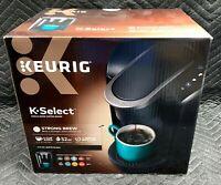 New Keurig K-Select Coffee Maker Programmable Single Serve Brewer Matte Black