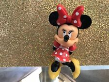 DISNEY MINNEY MOUSE HOLDING PRESENT PVC CAKE TOPPER DISPLAY PLAY FIGURE