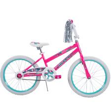 "Huffy 20"" Sea Star Girls' Bike Pink Ride Cruise Park Streamers Timeless Classic"